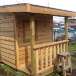 Gartenhaus im Bausatz