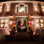 Weihnachtsbeleuchtung außen